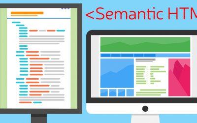 HTML 5 Семантични елементи и тяхното значение